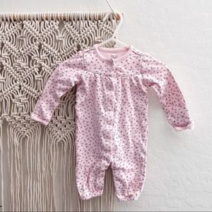 Carter's Floral Outfit Pink One Piece 3 Months